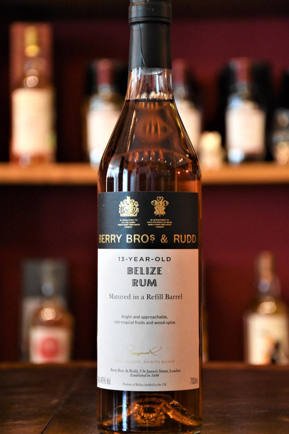 Belize 2007, 13 y.o. - Cask No. 1, Travellers Liquors Ltd. Distillery, 46% Alc.Vol., Berry Bros. & Rudd