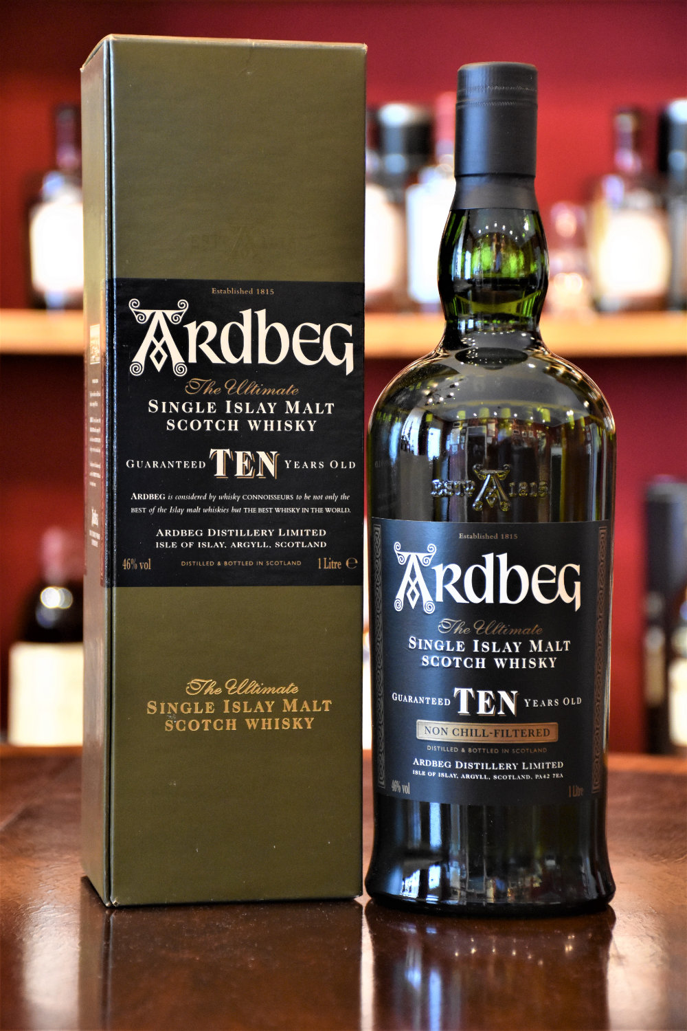 Ardbeg 10 y.o. Batch 2006, 1,0 Ltr. Flasche, 46% Alc.Vol., Distillery Original Bottling