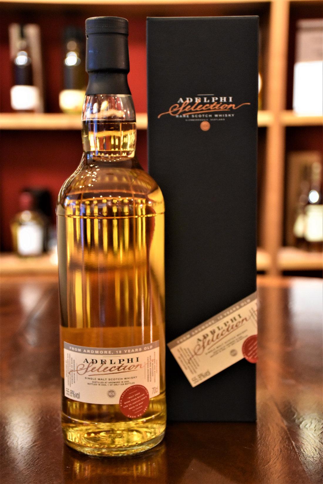Ardmore 2002, 18 y.o., Refill Bourbon Hogshead, Fass Nr. 285, 55,8 % Alc.Vol., Adelphi