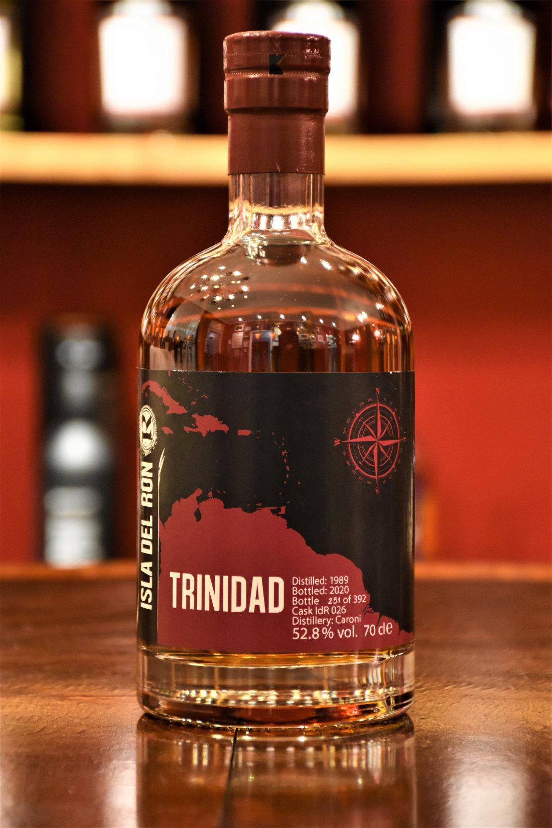 Isla del Ron Trinidad 1989, 31 y.o. - Sherry Butt Finish, 52,8% Alc.Vol., Malts of Scotland