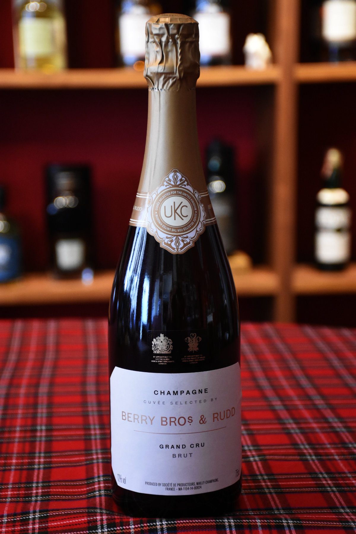 Berry Bros. & Rudd Champagne Grand Cru by Mailly, Grand Champagne, 12 %