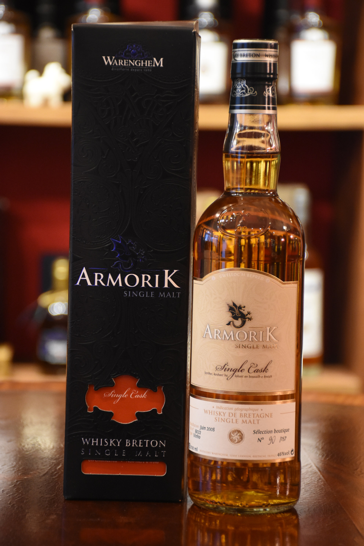 Armorik, 46%Vol.,  Destiller Original Abfüllung