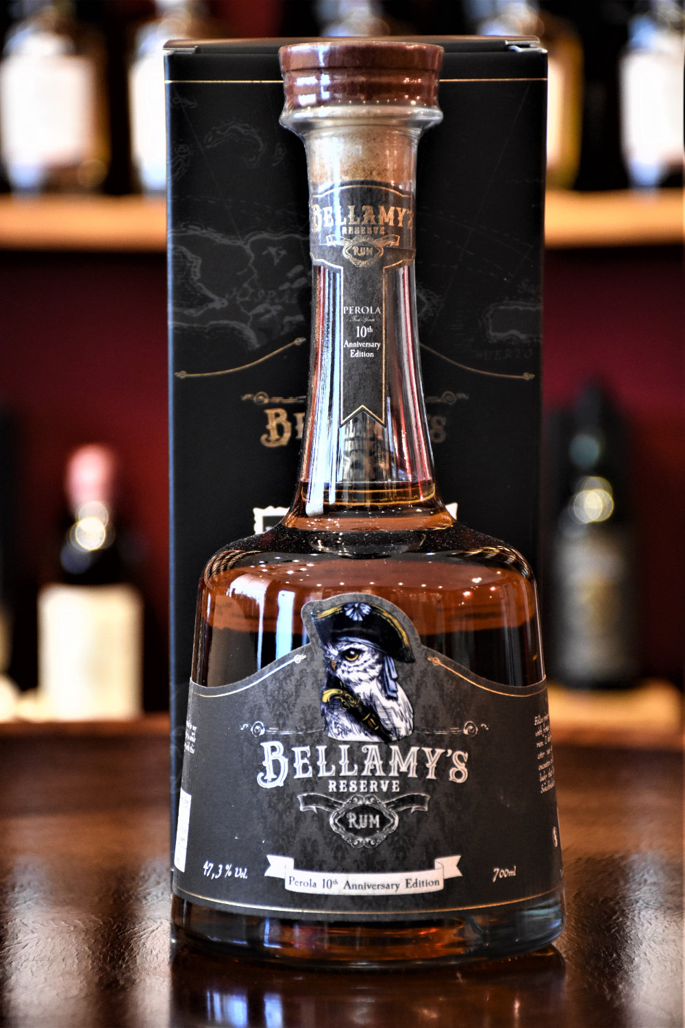 Bellamy´s Reserve Rum Perola 10th Anniversary Edition, 47,3% Alc.Vol., Perola