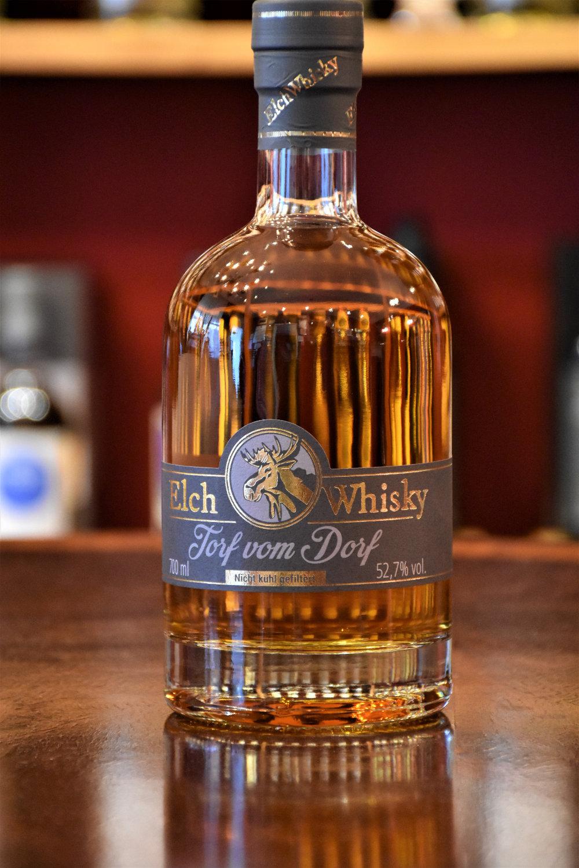 Elch Whisky, Torf vom Dorf, Auflage 6, 52,7% Alc.Vol.