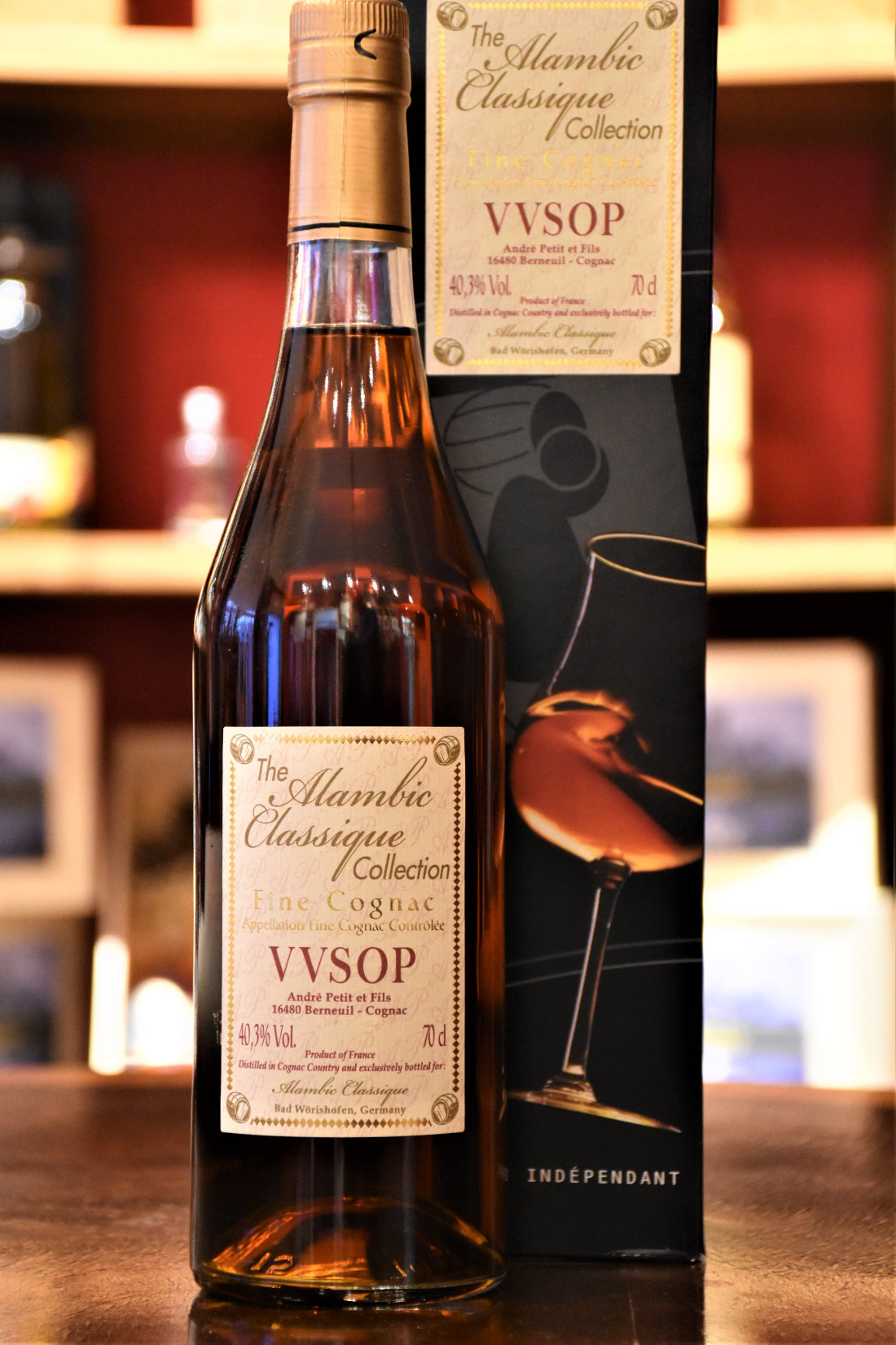 Andre Petit VVSOP - Alambic Classic Collection, 40,3% Alc.Vol.