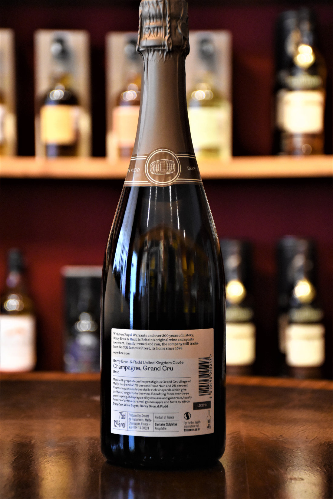 Berry Bros. & Rudd Champagne Grand Cru by Mailly, Grand Champagne, 12 % Alc.Vol.