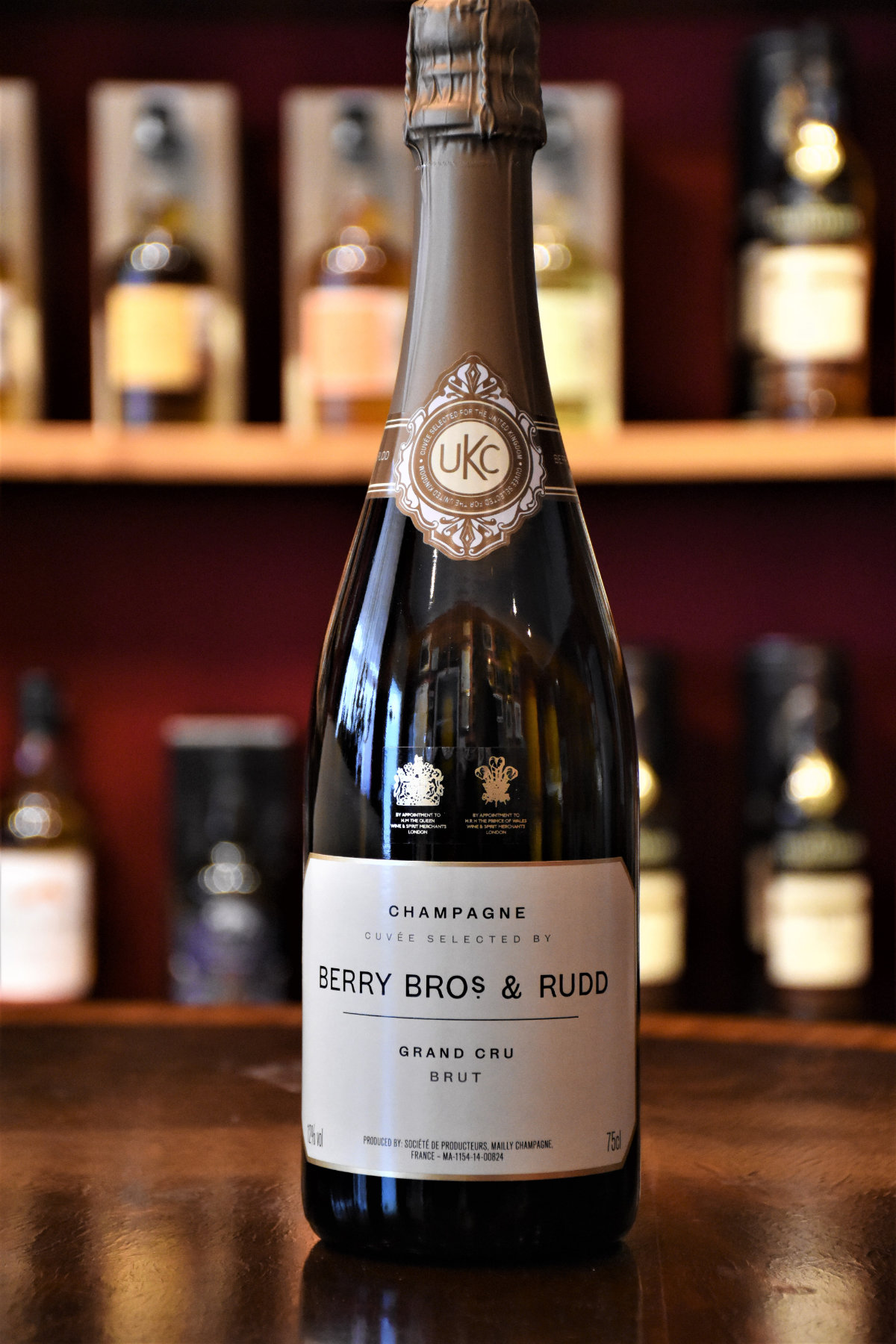 Berry Bros. & Rudd Champagne Grand Cru by Mailly, Grand Champagne, 12 % Alc.Vol.