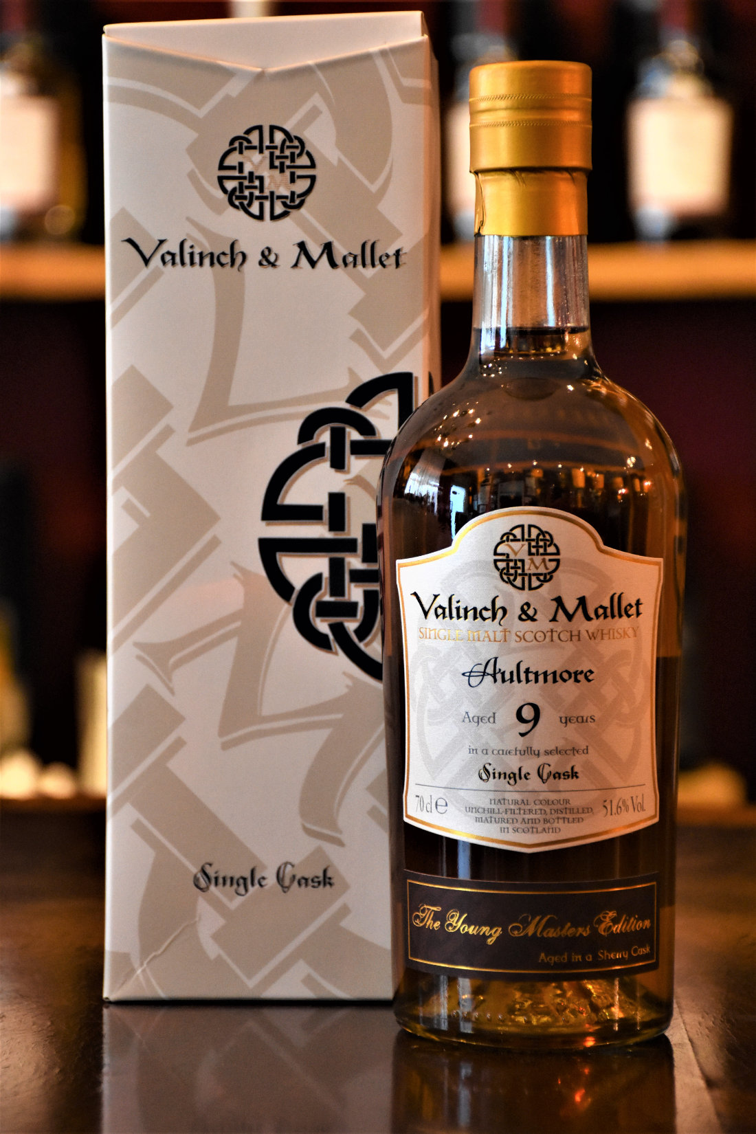 Aultmore 2010, 9 y.o. - The Young Master Collection Sherry, 51,6% Alc.Vol., Fass Nr. 20-0901, Valinch & Mallet