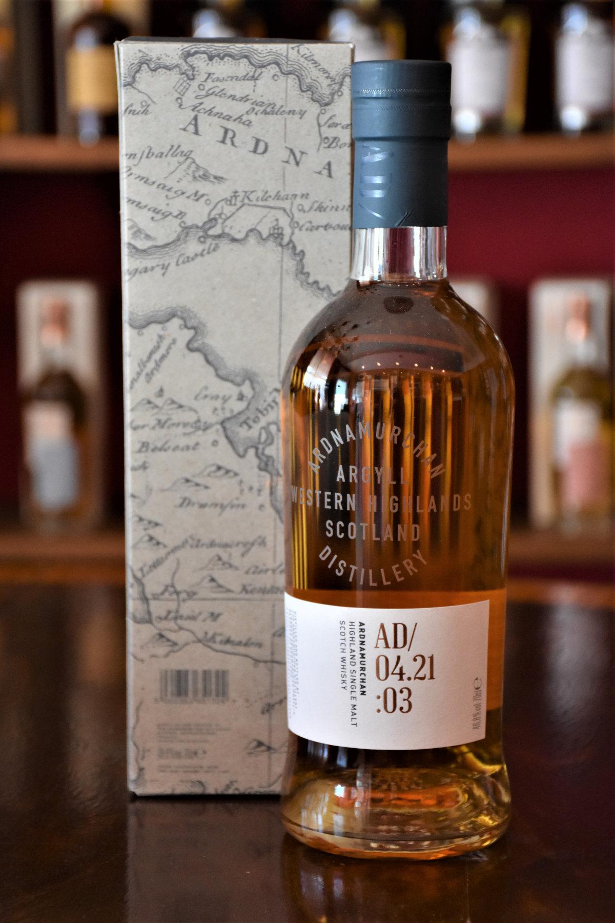 Ardnamurchan Batch 03 - AD/04.21:03, 46,8% Alc.Vol., Distillery Original Bottling