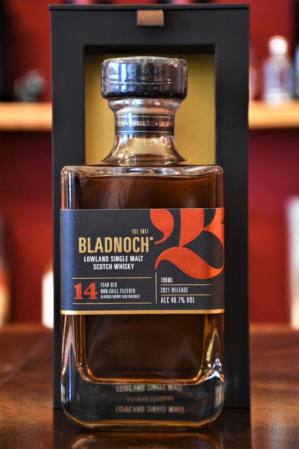 Bladnoch 14 y.o. - Release 2021, Oloroso Sherry Cask, 46,7% Alc.Vol., Distillery Original Bottling