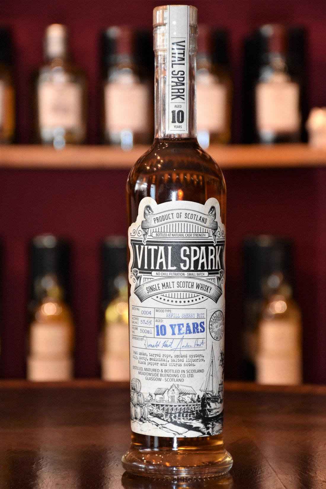 Vital Spark 10 y.o., Batch 0004, 53,5% Alc.Vol., The Maltman