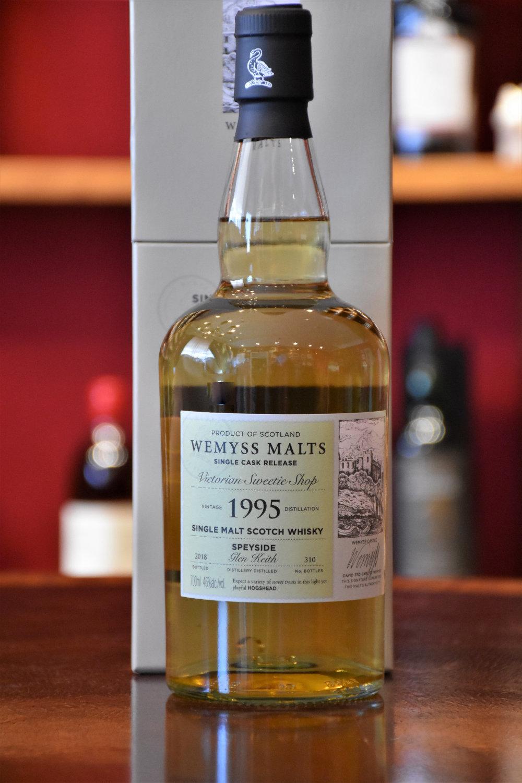 Glen Keith 1995, 22 y.o., - Victorian Sweetie Shop, 46% Alc.Vol. , Wemyss Malts