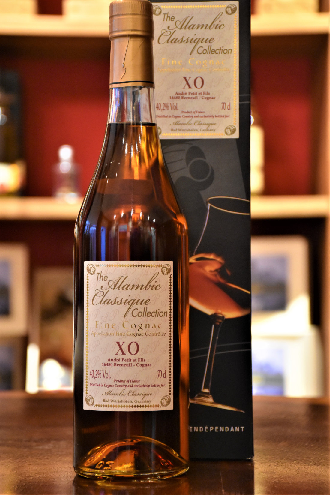 Andre Petit XO - Alambic Classic Collection, 25 Jahre, 40,2% Alc.Vol.