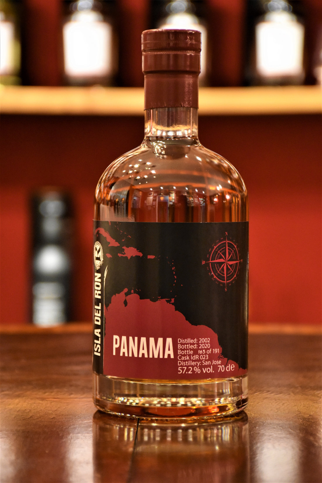 Isla del Ron Panama 2002, 18 y.o., 57,2% Alc.Vol., Malts of Scotland