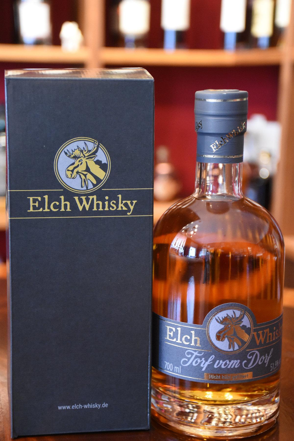 Elch Whisky, Torf vom Dorf Auflage 5,  51,9%