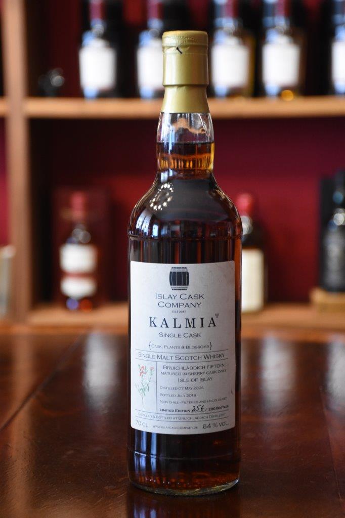 Bruichladdich 2004, Kalmia, 15 y.o., Sherry Hogshead, 64 % Alc.Vol., The Islay Cask Company