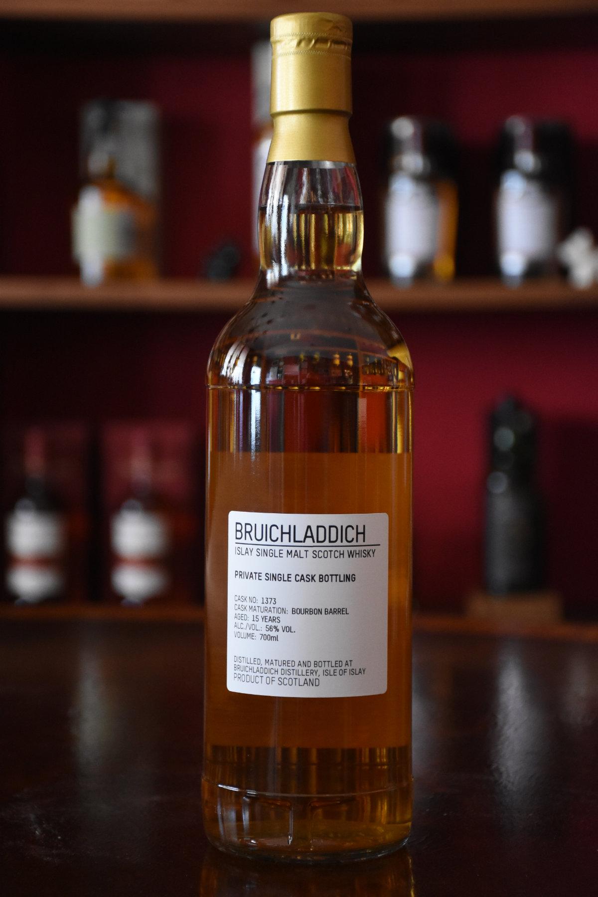 Bruichladdich 2003, Juniperus, 15 Jahre, Bourbon Cask, 56% Alc.Vol., Islay Cask Company