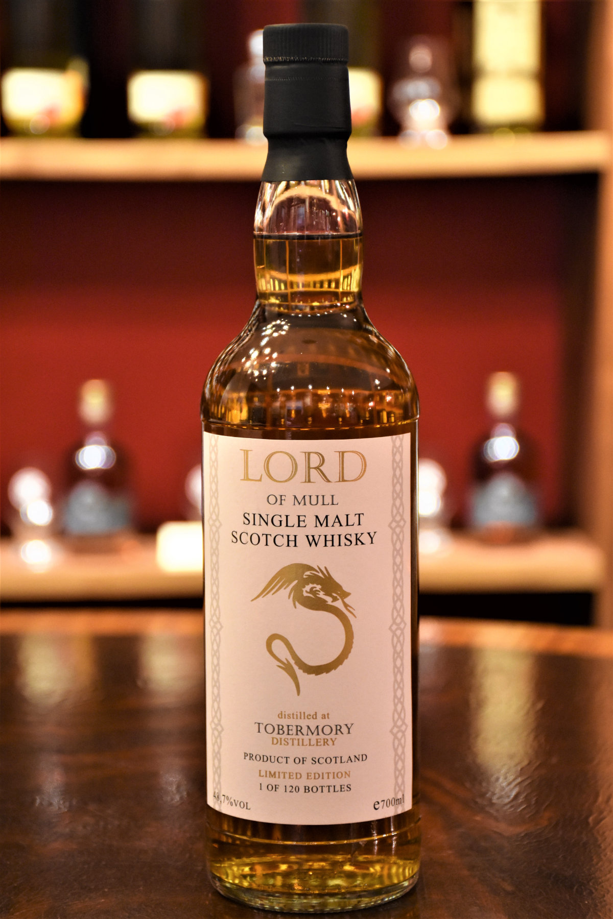 Lord of Mull, Tobermory 2008, 12 y.o., Sherry Cask, 48,7 %, Der Whisky Keller
